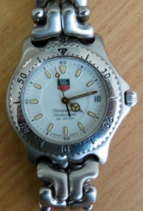 Tag Heuer Chronometer Officiall Certified 200 atm