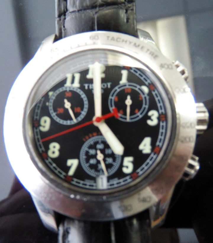 Tissot quartz chronograph