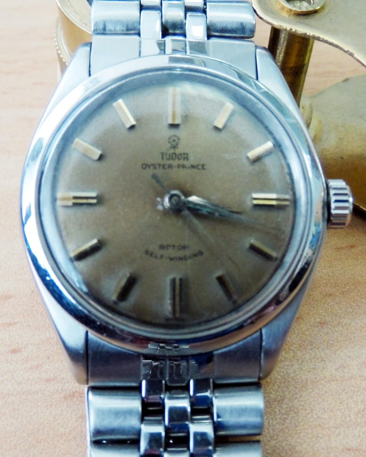 Tudor Oyster Prince automatic stainless watch 1
