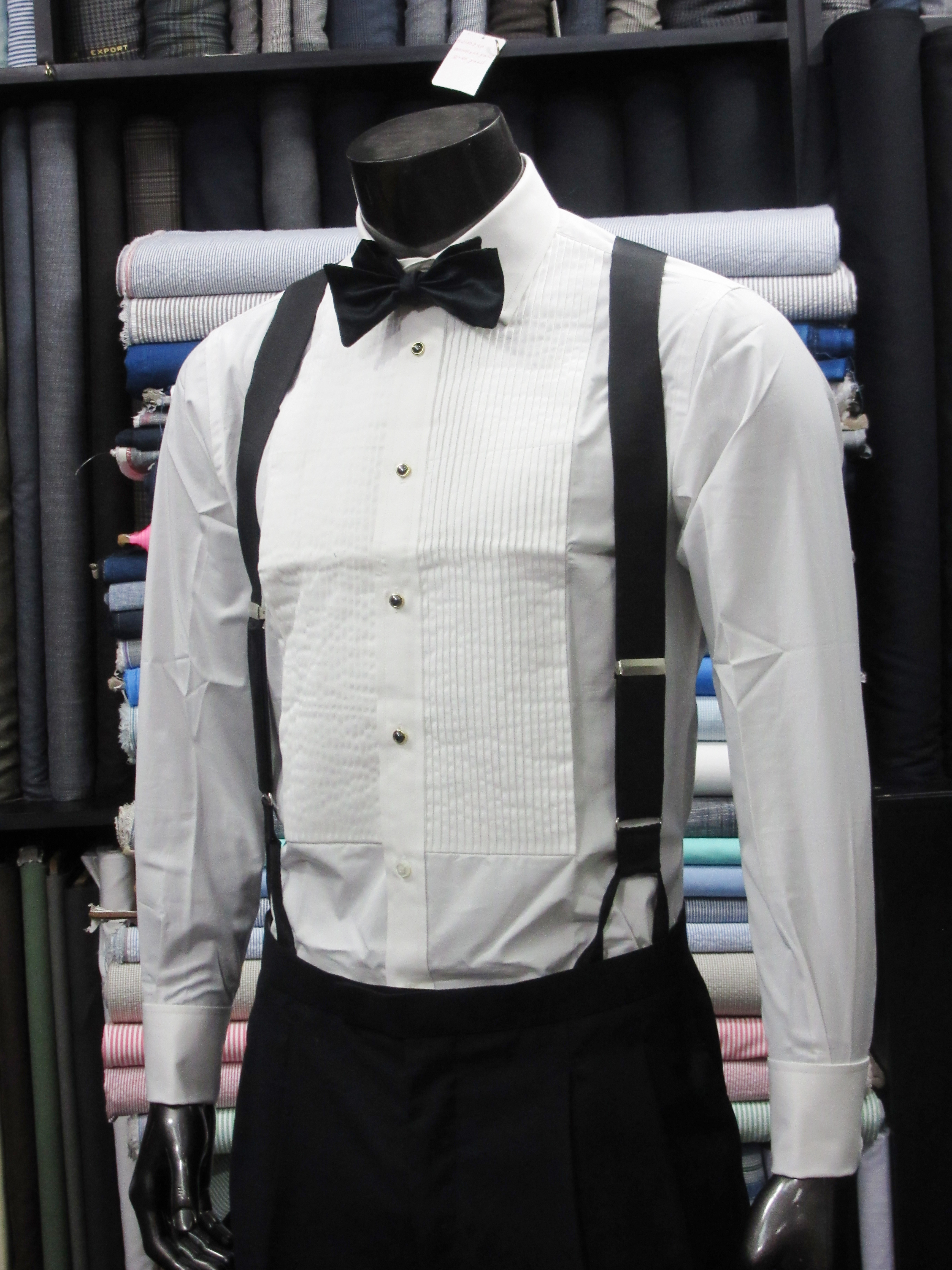 How to this is a blog about men 39 s style for White shirt for tuxedo